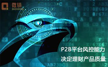 P2B平台风控能力决定网投标的质量